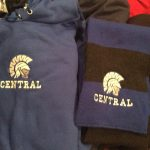 Custom embroidery for Central created by Kaz Bros Design Shop