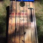 kaz bros design shop dale farmer construction corn hole