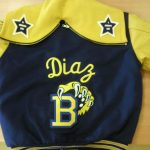 Letterman style jacket created by Kaz Bros Design Shop