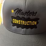 Masters Construction's custom hats by Kaz Bros Design Shop