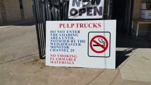 kaz bros design shop pulp truck sign